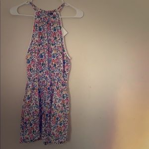 NWT H&M Floral tank romper. Size 4